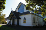 Outside view, Holy Trinity Church, Devonport (photo J. Halpin, 2013) - No known copyright restrictions