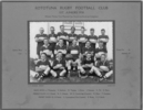 Rototuna Rugby Football Club 1st Juniors 1938 including Richard Goodison - This image may be subject to copyright
