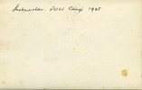 Luckenwalde POW Camp 1945, Back name of Camp written in biro - This image may be subject to copyright