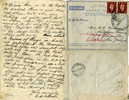 Letter from 2Lt D.M. Patterson dated 28jul41 to mother page 2 (32149 Richard Goodison) - This image may be subject to copyright