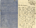 Letter from 2Lt D.M. Patterson dated 5sep41 to mother page 1 (32149 Richard Goodison) - This image may be subject to copyright