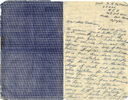 Letter from 2Lt D.M. Patterson dated 12oct41 to mother page 1 (32149 Richard Goodison) - This image may be subject to copyright