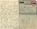 Letter from 2Lt D.M. Patterson dated 12oct41 to mother page 2 (32149 Richard Goodison) - This image may be subject to copyright