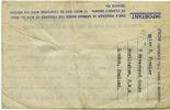 Prisoner of War Post aerogramme, Stalag Luft III front: from Miss E. Finkler dated August 8, 1944 back name of sender - This image may be subject to copyright