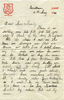Letter to his family dated 17may40 from Trentham camp. - This image may be subject to copyright