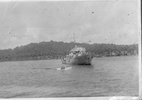 K385 HMNZS Arabis Flower Class Corvette, Pacific 1944 - This image may be subject to copyright