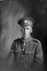 1/4 portrait of Lance Corporal Harold Montrose Ansenne, Reg No 38643, of the 22nd Reinforcements, - E Company. Died of wounds in France on 30 March 1918. (Photographer: Herman Schmidt, 1917). Sir George Grey Special Collections, Auckland Libraries, 31-A2638. No known copyright.
