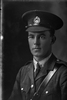 1/4 portrait of Lieutenant Aicken, Probably 2nd Lieutenant Edward George Aickin, Reg No 33166, of the Canterbury Infantry Regiment, - C Company, 27th Reinforcements. (Photographer: Herman Schmidt, 1917). Sir George Grey Special Collections, Auckland Libraries, 31-A3309. No known copyright.