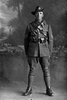 3/4 portrait of Sergeant Stanley Wellington Bagnall, Reg No 17362, New Zealand Mounted Rifles 18th Reinforcements. (Photographer: Herman Schmidt, 1916). Sir George Grey Special Collections, Auckland Libraries, 31-B1914. No known copyright.