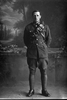 3/4 portrait of Trooper Arthur Charles Ball, New Zealand Mounted Rifles, Reg. No. 16059 (Photographer: Herman Schmidt, 1916). Sir George Grey Special Collections, Auckland Libraries, 31-B1918. No known copyright.