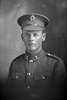 1/4 portrait of Private Thomas Brownlee Clark, Reg No 38349, of the Auckland Infantry Regiment, - A Company, 22nd Reinforcements (Photographer: Herman Schmidt, 1917). Sir George Grey Special Collections, Auckland Libraries, 31-C2227. No known copyright.