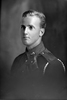 1/4 portrait of Gunner Arthur Bramwell Hudson, Reg No 2/2844, of the New Zealand Field Artillery, No. 5 Field Battery (2nd Field Artillery Brigade). (Photographer: Herman Schmidt, ). Sir George Grey Special Collections, Auckland Libraries, 31.H652. No known copyright.