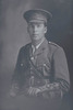 3/4 portrait of Chaplain Captain Leslie Bourneman Neale, Reg No 35569, of the Chaplain Corps. (Photographer: Herman Schmidt, 1917). Sir George Grey Special Collections, Auckland Libraries, 31-N2889. No known copyright.