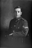 3/4 portrait of Lance Sergeant Harry Ernest Reynolds, Reg No 49115, of the Auckland Infantry Regiment, - A Company, 27th Reinforcements. (Photographer: Herman Schmidt, 1917). Sir George Grey Special Collections, Auckland Libraries, 31-R3233. No known copyright.