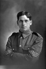 1/2 portrait of Sergeant Savage, probably Sergeant Charles Savage, Reg No 16/888, of the 2nd Maori Contingent, New Zealand Maori Pioneer Battalion. Killed in action in France on 21 June 1917. (Photographer: Herman Schmidt, 1915). Sir George Grey Special Collections, Auckland Libraries, 31-S1002. No known copyright.