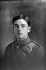 1/4 portrait of Private A P Singe. (Photographer: Herman Schmidt, 1916). Sir George Grey Special Collections, Auckland Libraries, 31-S1055. No known copyright.