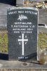 Gravestone at Ngaruawahia Public Cemetery for 39717 Thomas Paterson. No Known Copyright.