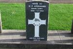 Gravestone at Waikaraka Park Cemetery for 19598 Wiremu Aperahama. No Known Copyright.