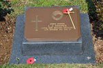Gravestone at Busan Cemetery for 203513 Leslie Cooper. No Known Copyright.