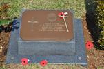 Gravestone at UN Cemetery Pusan, Korea for 208850 John Burborough. No Known Copyright.