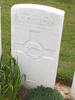 Headstone of H Ashton s/n 24/36 at Dernacourt cemetery, France. No Known Copyright.