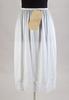 half-slip, white nylon, scalloped floral lace at h...