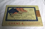 WW1 ephemera; booklet, 'American Cosmograph'
