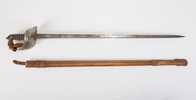 British Pattern 1897 sword and scabbard used by Ca...