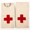 pair of nursing armbands, probably belonged to Sis...