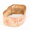 Home Guard armband, marked 'HG / L OF C'. This arm...