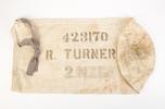 Kitbag belonging to 423170  Ralph Turner, 21 Batta...
