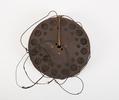 wire reel for field telephone unpainted metal reel...