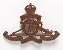 New Zealand regimental badge:  New Zealand artille...