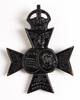 British regimental badge ; 16th Battalion (Queen's...