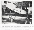"""A New Zealander who has received a commission in the Royal Flying Corps: Lieutenant Harold Butterworth, of Auckland, in a Farman biplane in England."" Taken from the supplement to the Auckland Weekly News 25 November 1915 p048. Sir George Grey Special Collections, Auckland Libraries, AWNS-19151125-48-1. Image has no known copyright restrictions."
