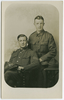 Portrait of Eric and Cecil Kivell. Kivell, Eric Henry. Papers relating to war service, 1914 - 1919. Auckland War Memorial Museum Library. MS-918. Image has no known copyright restrictions.