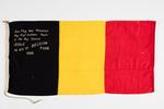 Belgian fundraising flag, 1915, WW1 material:  pai...
