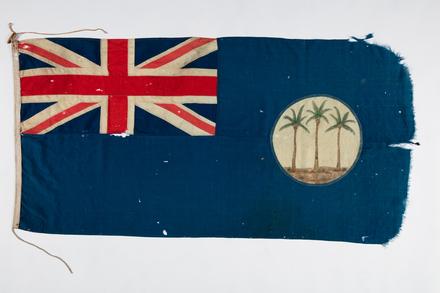 flag, ensign, 1986.262, F161
