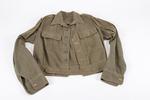 Tropical battle-dress jacket belonged to Major E.C...