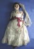 wax headed doll, Originally belonged to Mrs Wm Va...