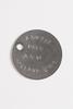 identity tags issued to 459322 L.Cpl. GW Thomas Ho...