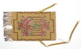 beaded purse Belonged to Mrs Lillian Choy beaded p...