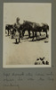 Unknown, photographer (1916). Corpl. Sherratt & the horse with which he won the Reg. jumping. Auckland War Memorial Museum - Tamaki Paenga Hira. PH-ALB-212-p31-2. Image has no known copyright restrictions.