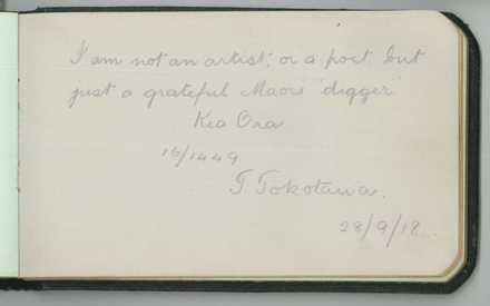 Te Tokotaua (16/1449). Swarbrick, Margaret. Miscellaneous papers, 1914 - 1947. Auckland War Memorial Museum Library. MS-1468. Image has no known copyright restrictions.