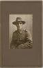 Portrait of Frederick Tucker (50113) by Wallace Poll Studio, Hastings. Photographs relating to Private Mudgway and Trooper Tucker. Auckland War Memorial Museum - Tāmaki Paenga Hira PH-2004-5. Image has no known copyright restrictions.
