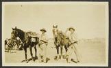 Williams, Edward Gordon, photographer (1914-1918). E.G.W. & Fossett on trek. Williams, E. G. (1914-1918). [Williams Album 2]. Auckland War Memorial Museum - Tamaki Paenga Hira. PH-ALB-211-p40-1. Image has no known copyright restrictions.