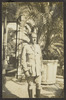 Williams, Edward Gordon, photographer (1914-1918).E.G.W in the rough and smooth. On leave at Shepheards. (1914-1918). [Williams Album 2]. Auckland War Memorial Museum - Tamaki Paenga Hira. PH-ALB-211-p7-2. Image has no known copyright restrictions.