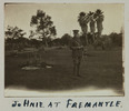 Gillett, Lawrence Henry, photographer (1914-1918). Johnie at Fremantle. Gillett Album. Auckland War Memorial Museum - Tāmaki Paenga Hira PH-ALB-118p12-5. Image has no known copyright restrictions.