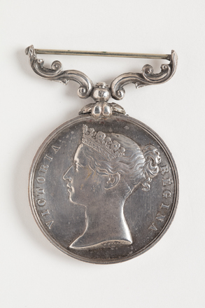 medal, long service, 1945.62, N0943, W1028.8, Photographed by Dani Lucas , digital, 19 Oct 2016, © Auckland Museum CC BY