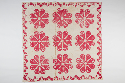 cover, bed, 1946.207, T363, 29101, Photographed by Andrew Hales, digital, 15 Nov 2016, © Auckland Museum CC BY